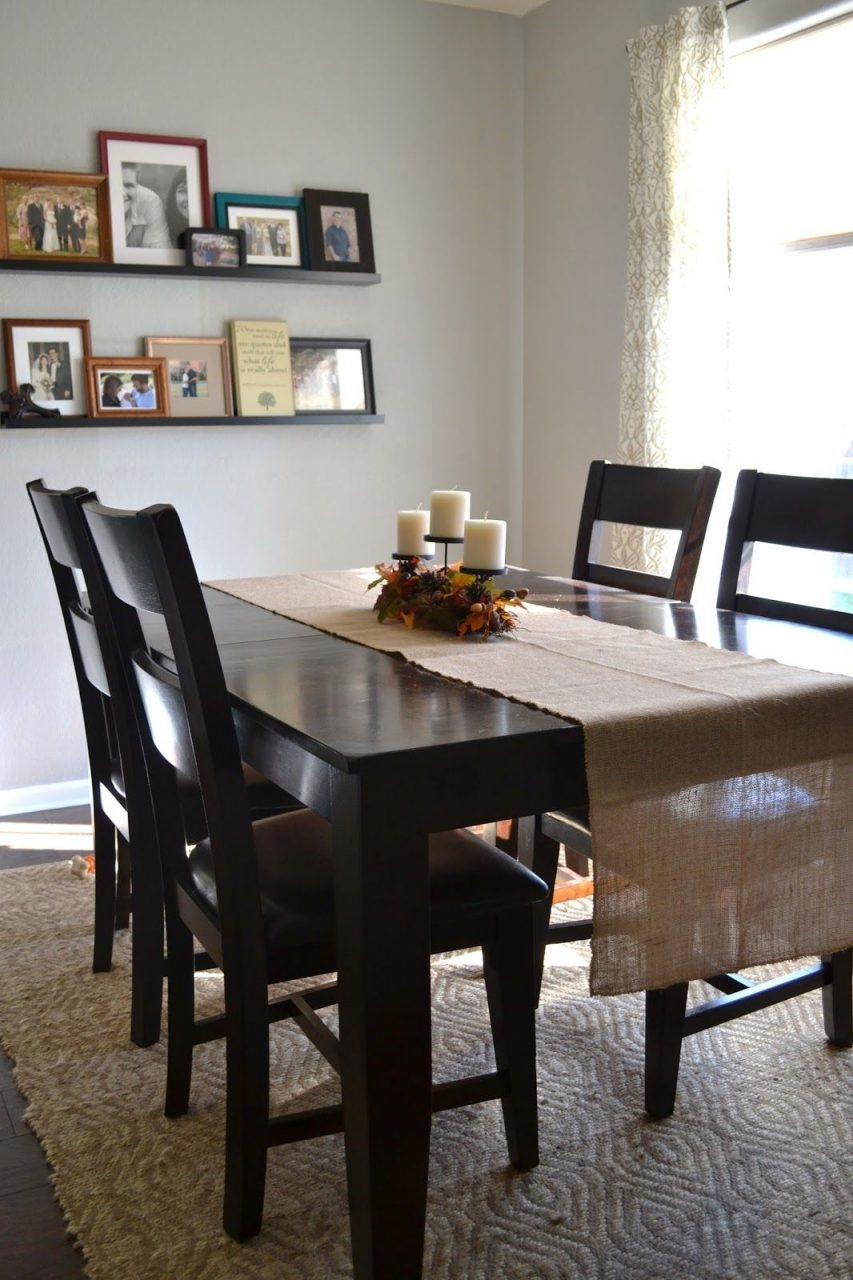 Easy Updates For Fall Hob Lob Burlap Table Runner And I Like