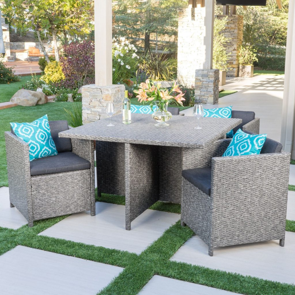 Elegant Patio Furniture Small Space