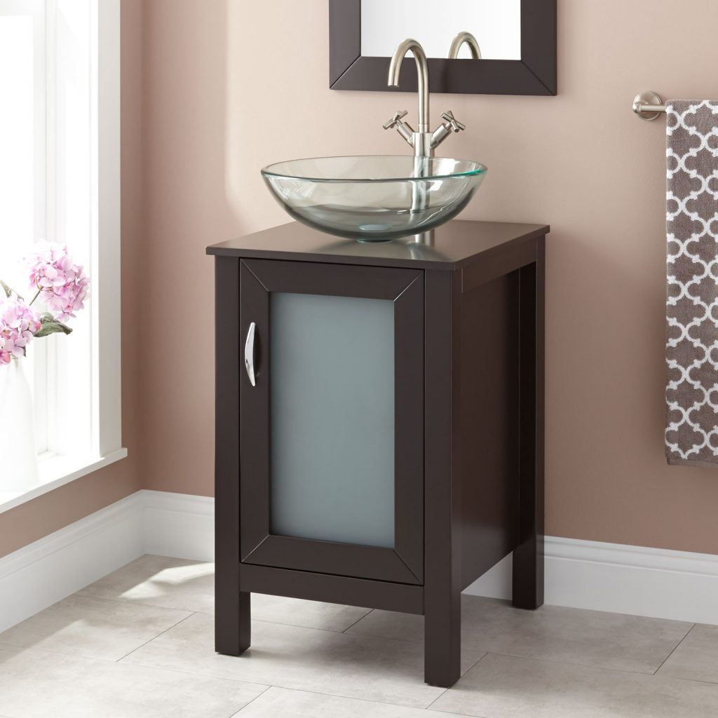Energy Single Bathroom Vanity With Vessel Sink Home Designs Also