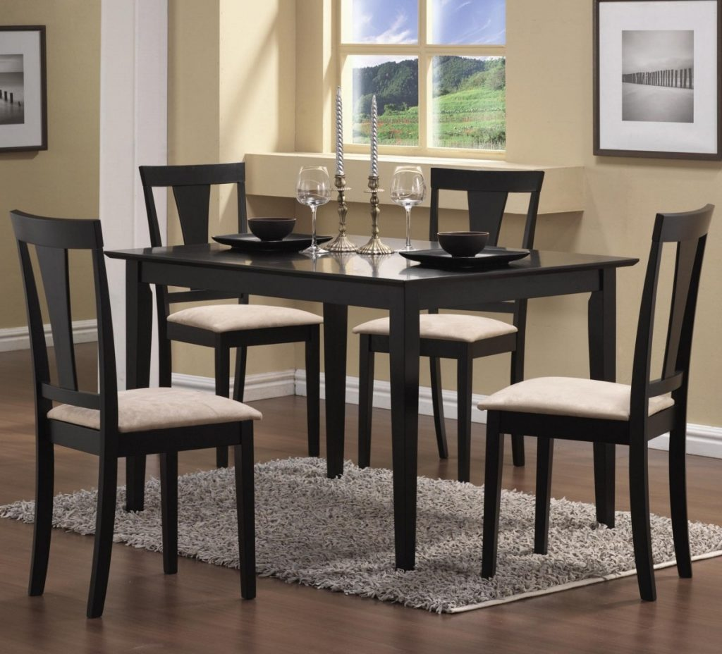 Excellent Cheap Dining Table And Chairs Set 7 Cozy Chair 4 Sets
