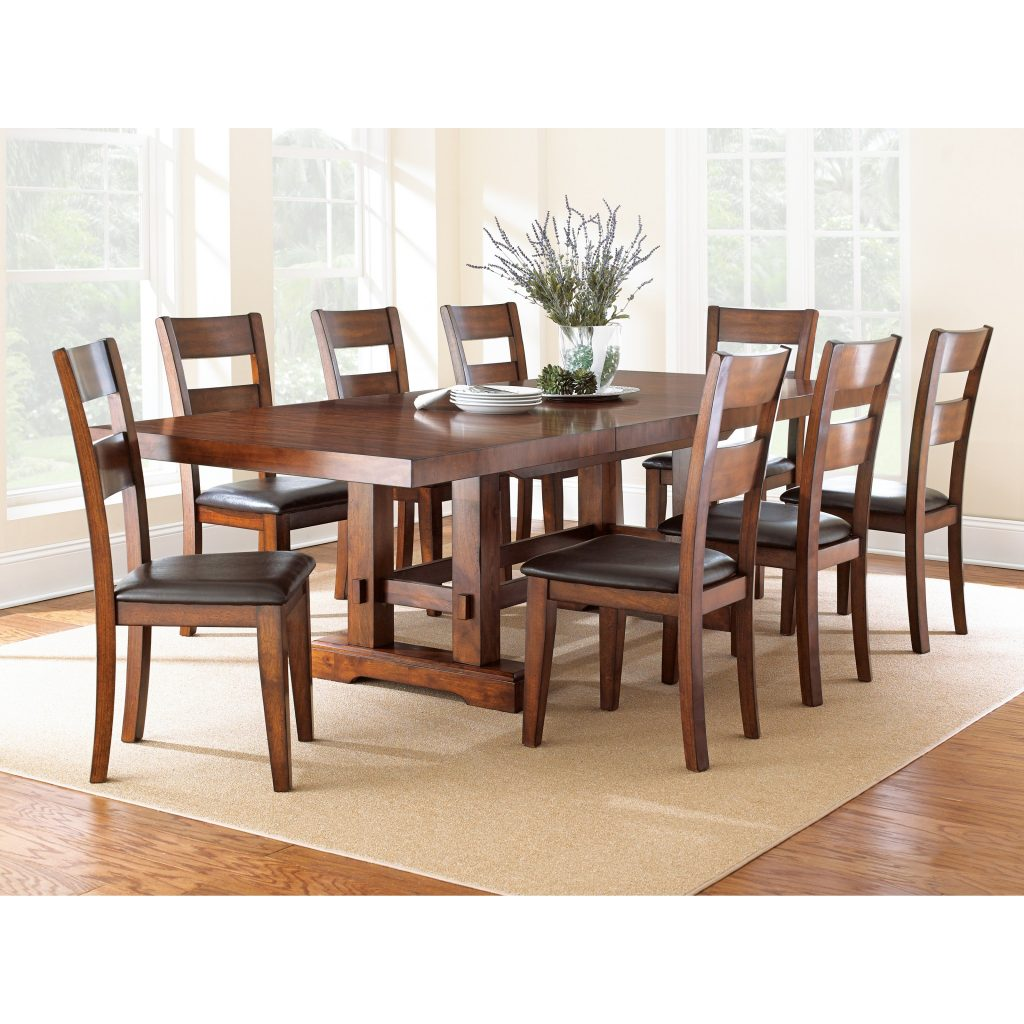 Fabulous Dining Room Sets For 8 18 Formal Awesome Wood Table With