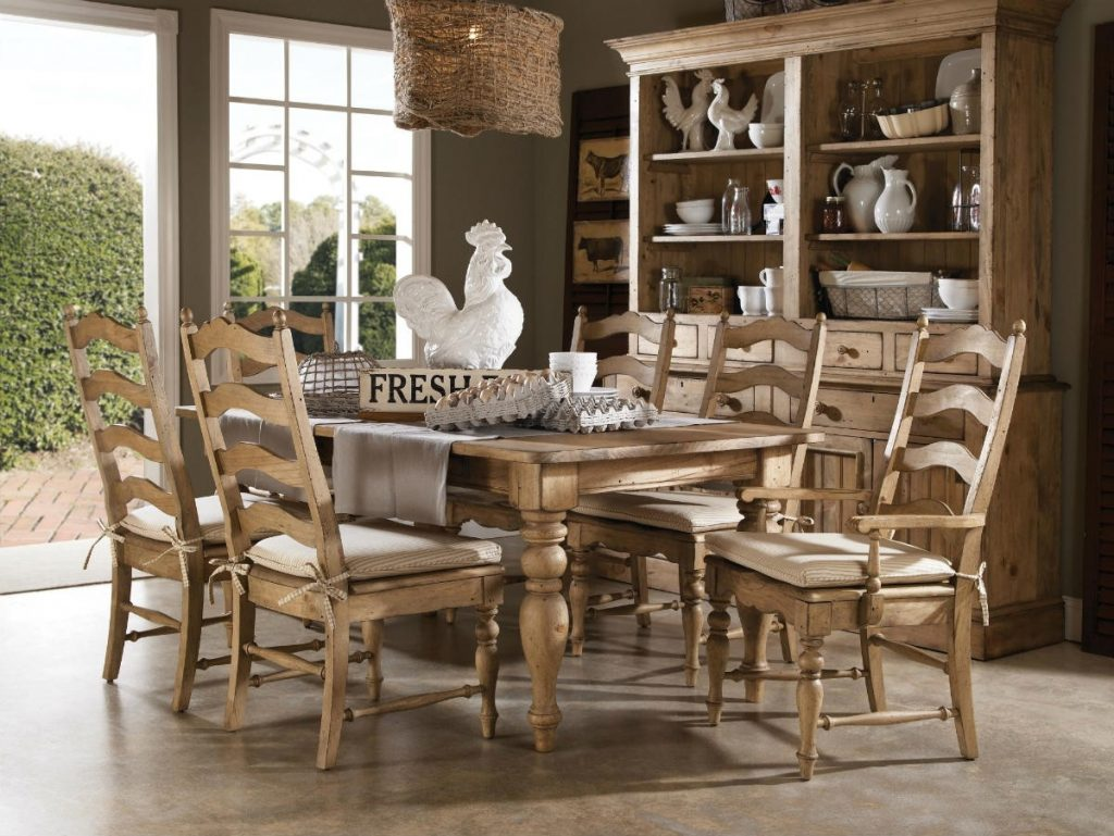 Farm Dining Table Idea Inside Houses Farm Dining Table Cozy In