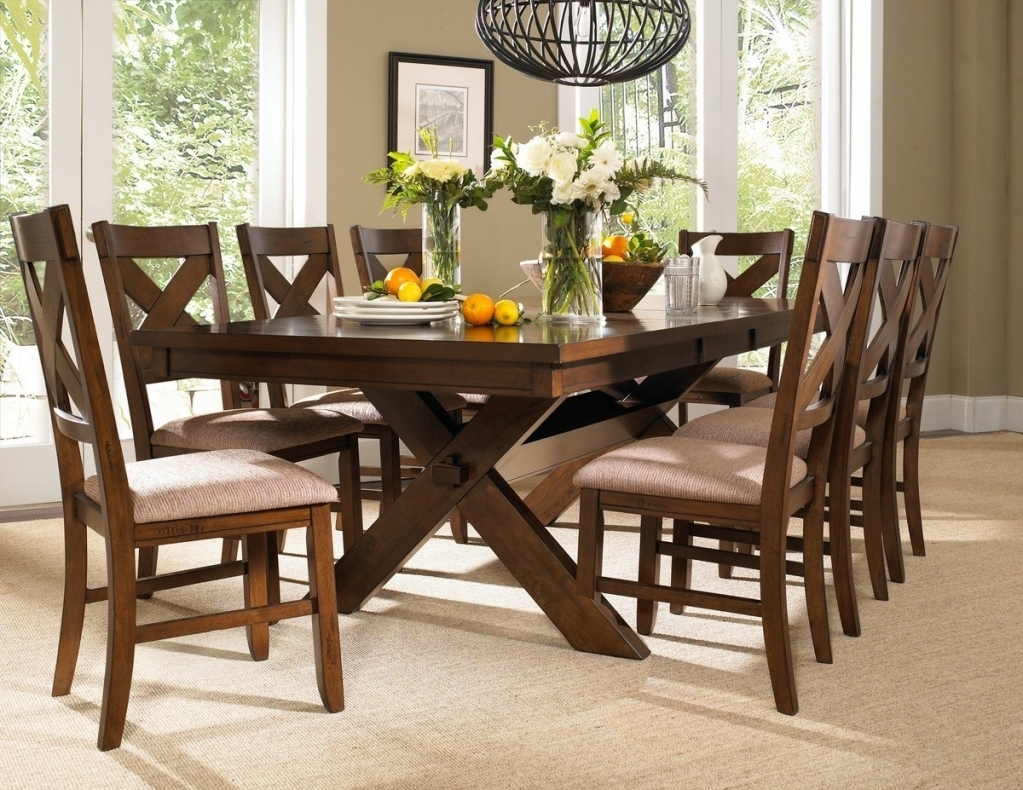 Farm Table And Chairs Farmhouse Dining Table Set Rustic Farm With