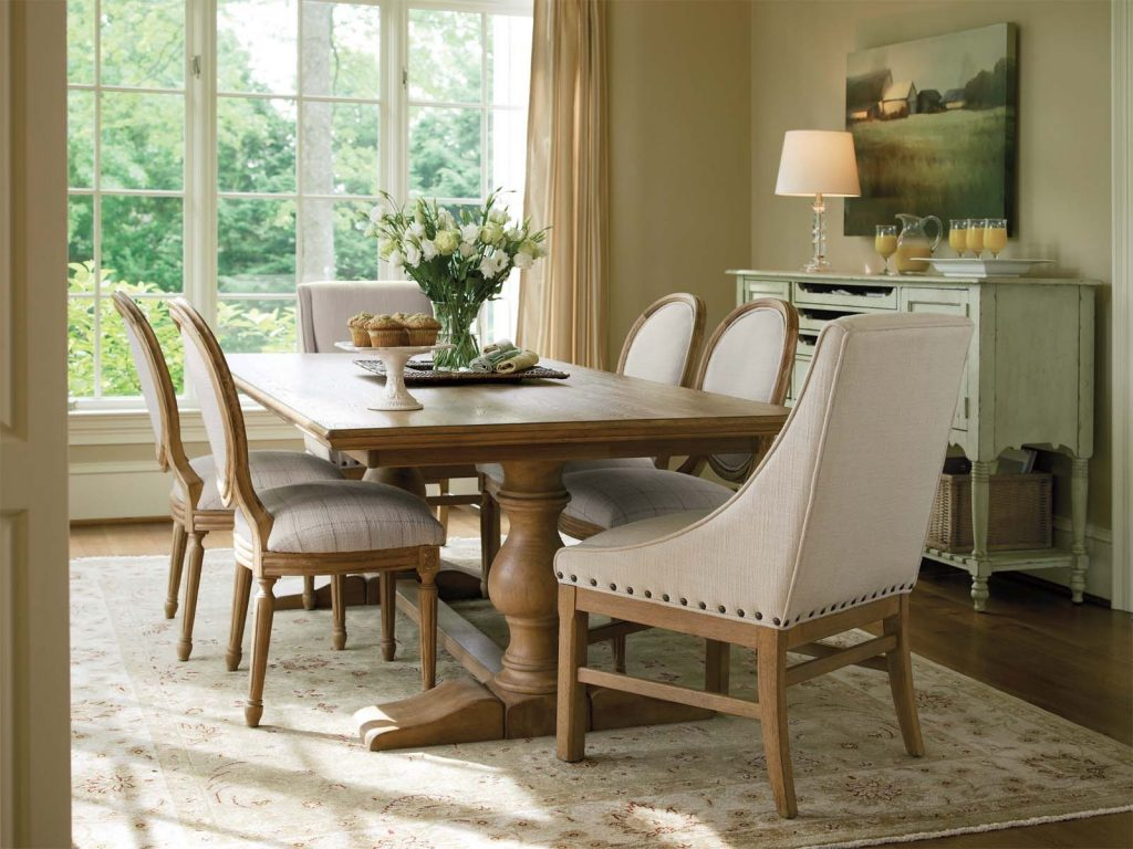 Farmhouse Dining Room Table Cool With Picture Of Farmhouse Dining