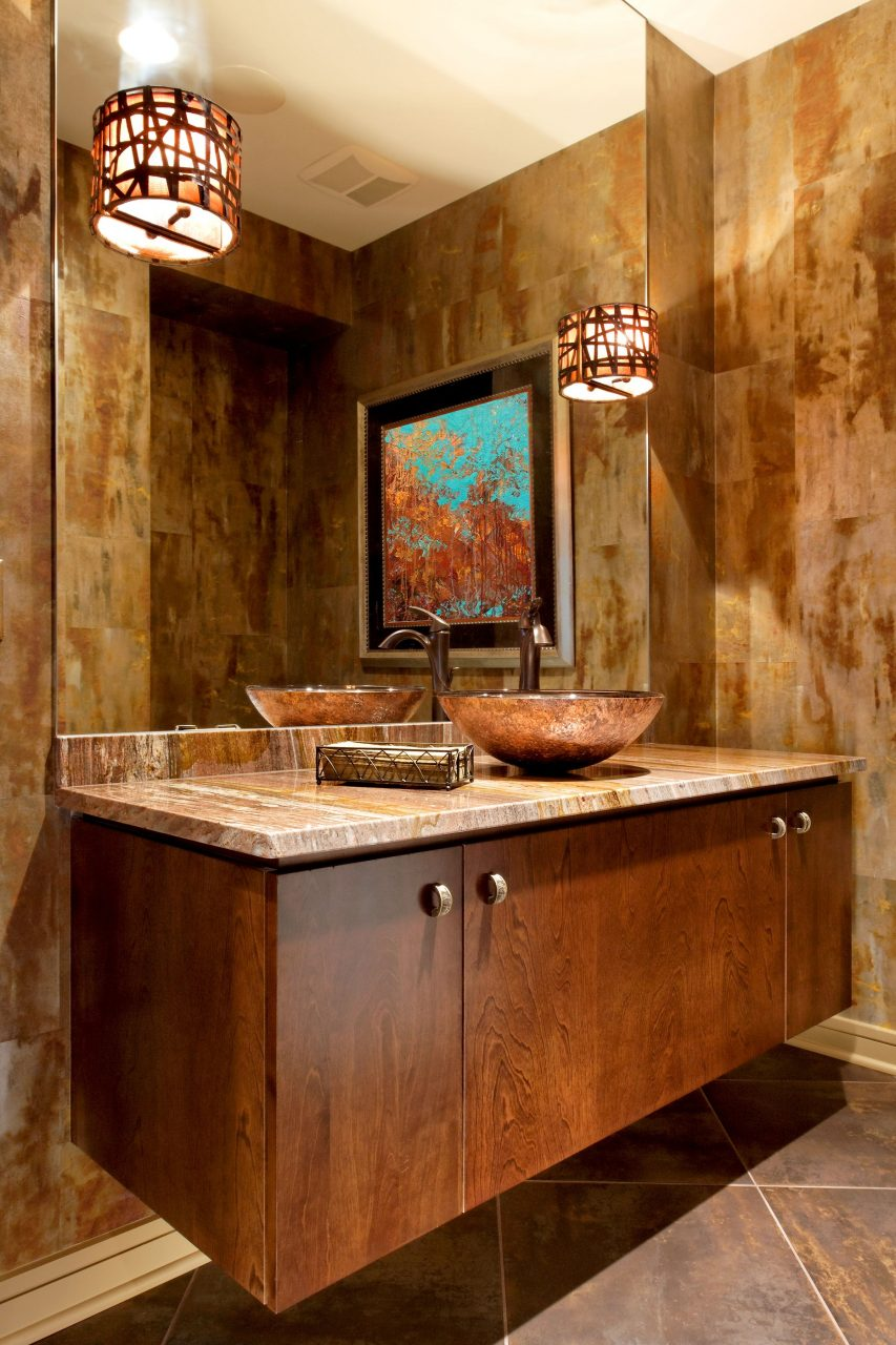 Floating Bathroom Vanity Apex Cabinetry Omaha Lincoln