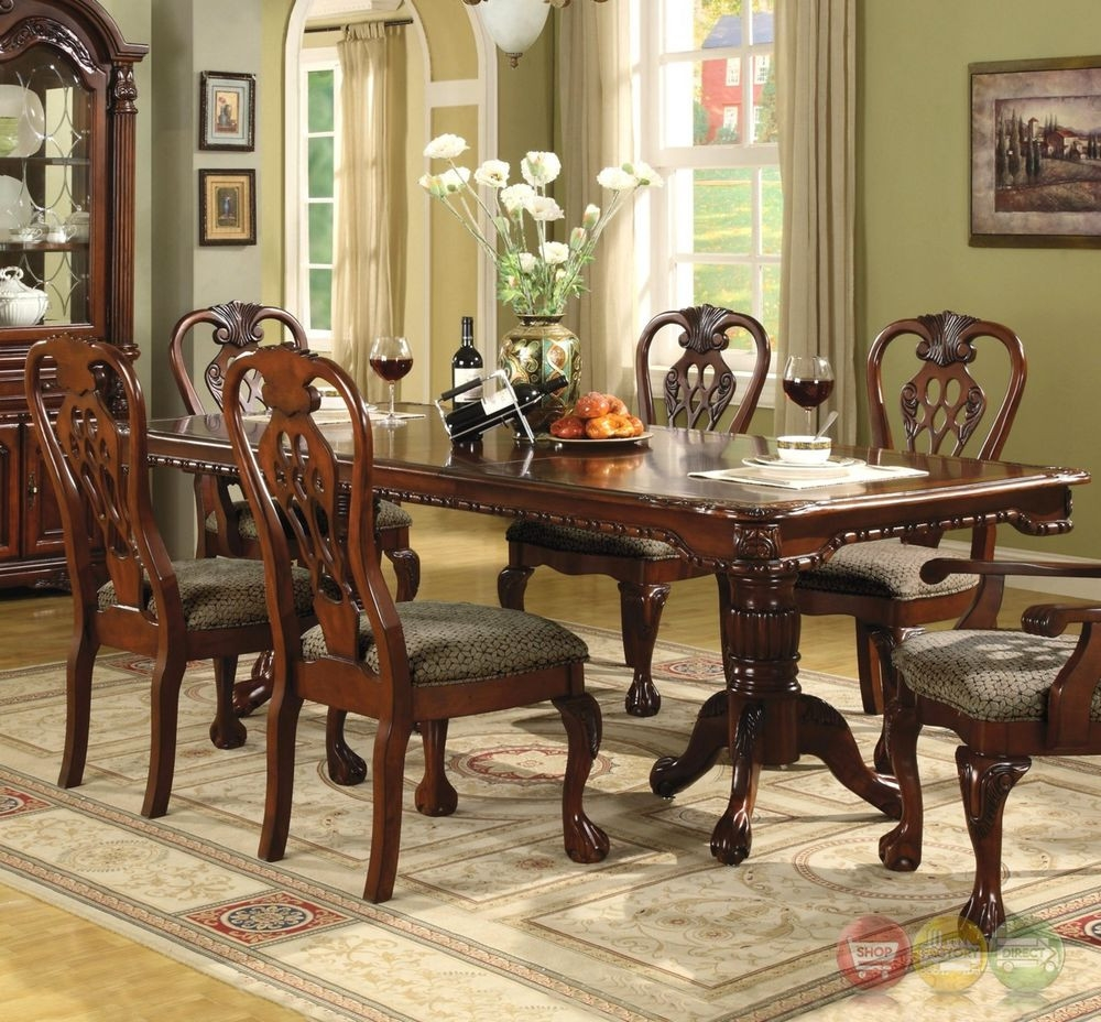 Formal Dining Room Sets With China Cabinet Brussels Traditional