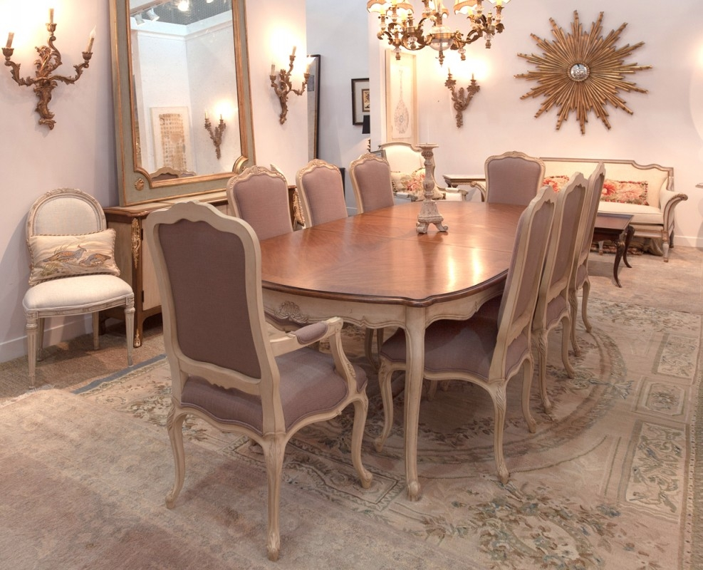 French Country Living Room Furniture French Country Round Dining