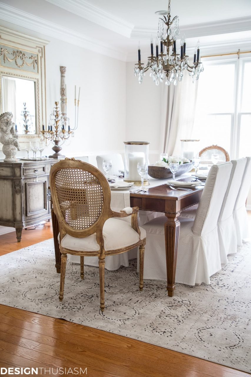 From Old School To Modern The Evolution Of A French Country Dining Room