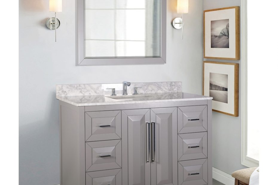 Fully Assembled Bathroom Vanities In Stock Vanity