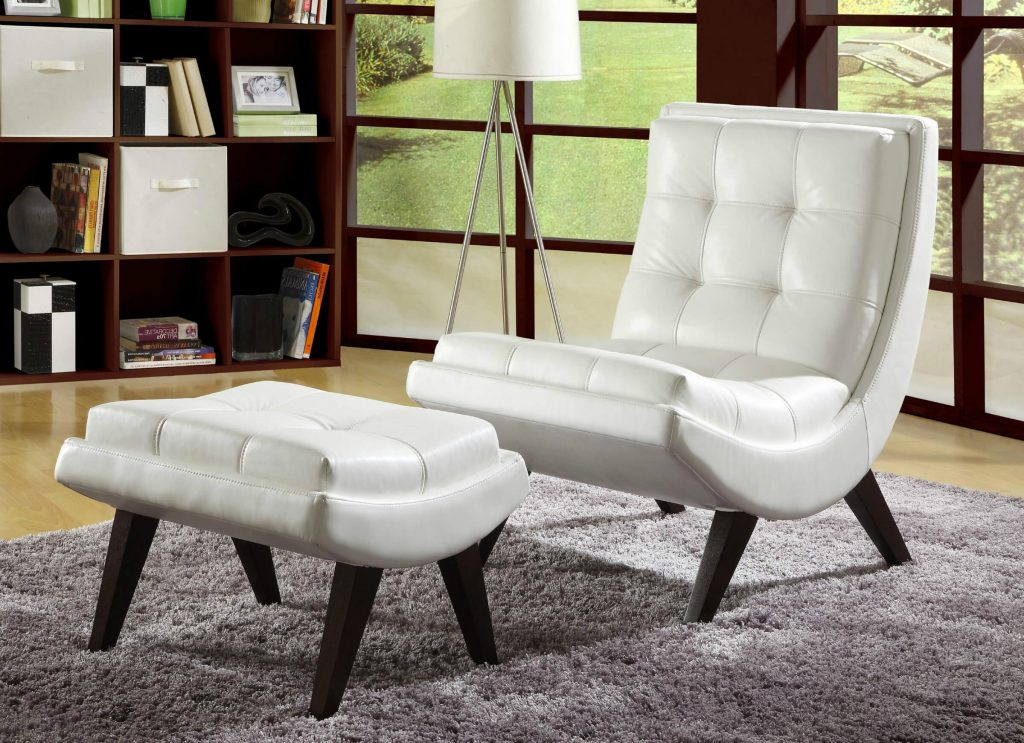 Furniture 37 White Modern Accent Chairs For The Living Room As