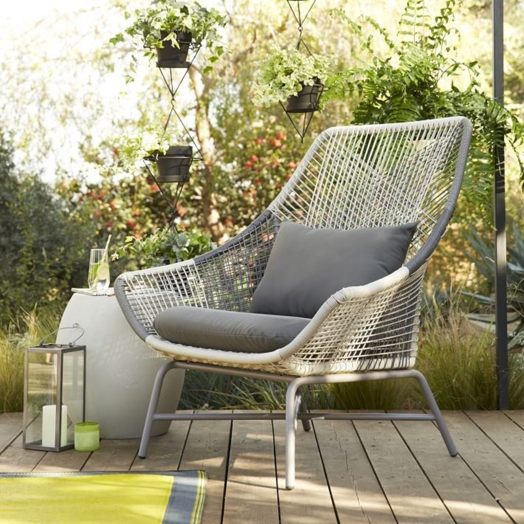 Furniture All Weather Cord Lounge Chair From West Elm Outdoor