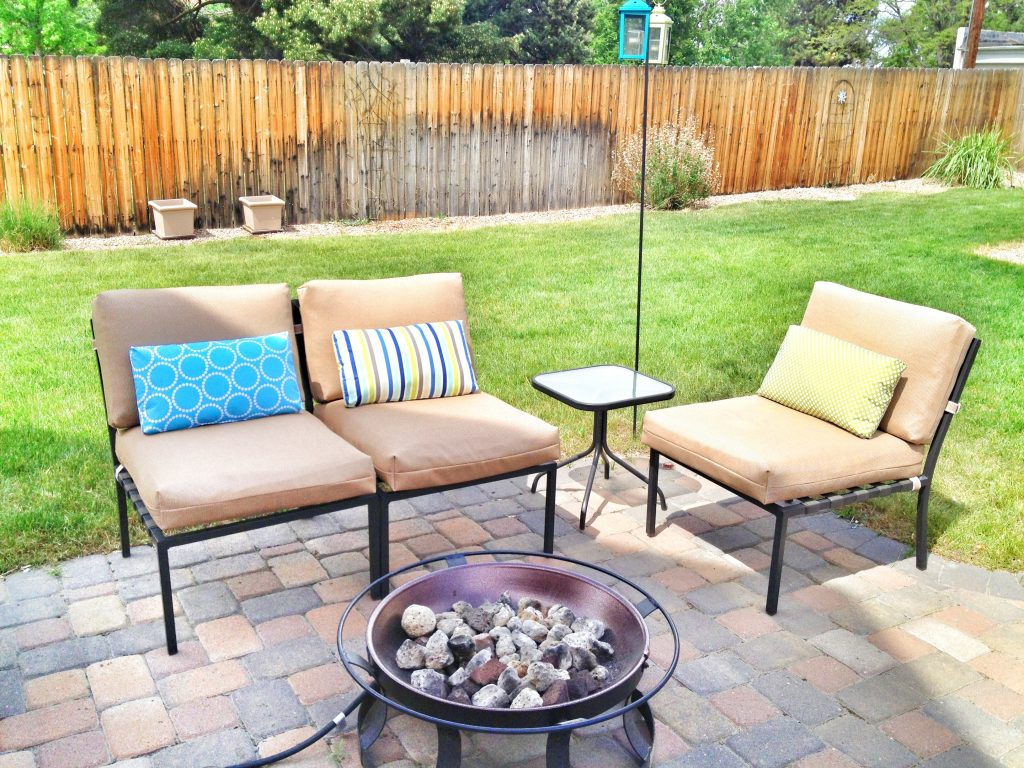 Furniture Exciting Patio With Sunbrella Replacement Cushions And