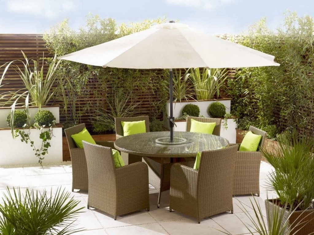 Furniture Latest Ideas For Outdoor Patio Dining Sets With Patio Layjao