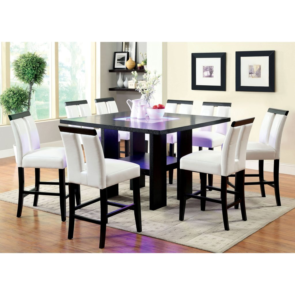 Furniture Of America Luminate Contemporary 7 Piece Illuminating