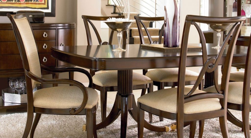 Furniture Thomasville Dining Table Cole Papers Design Exclusive