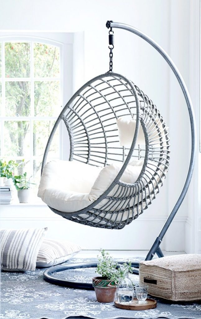 Get Creative With Indoor Hanging Chairs Urban Casa Indoor