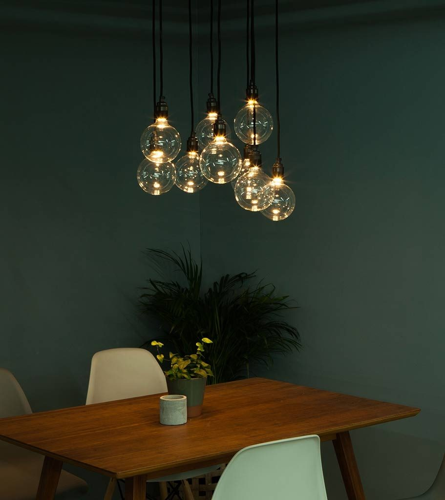 Globe Concealed Filament Led Filament Bulb Available In 2 Sizes