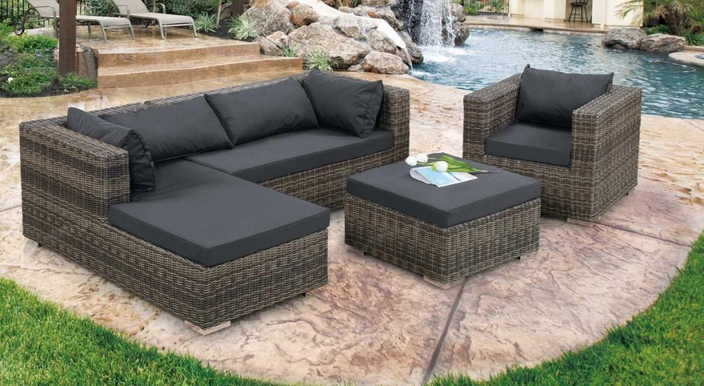 Grey Outdoor Furniture Sectional Sofa The Mebrureoral Design