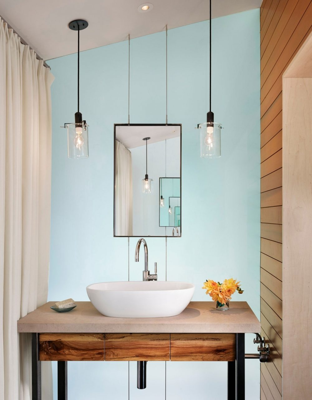 Hanging Bathroom Lighting Custom Light Fixtures Pendant Design From