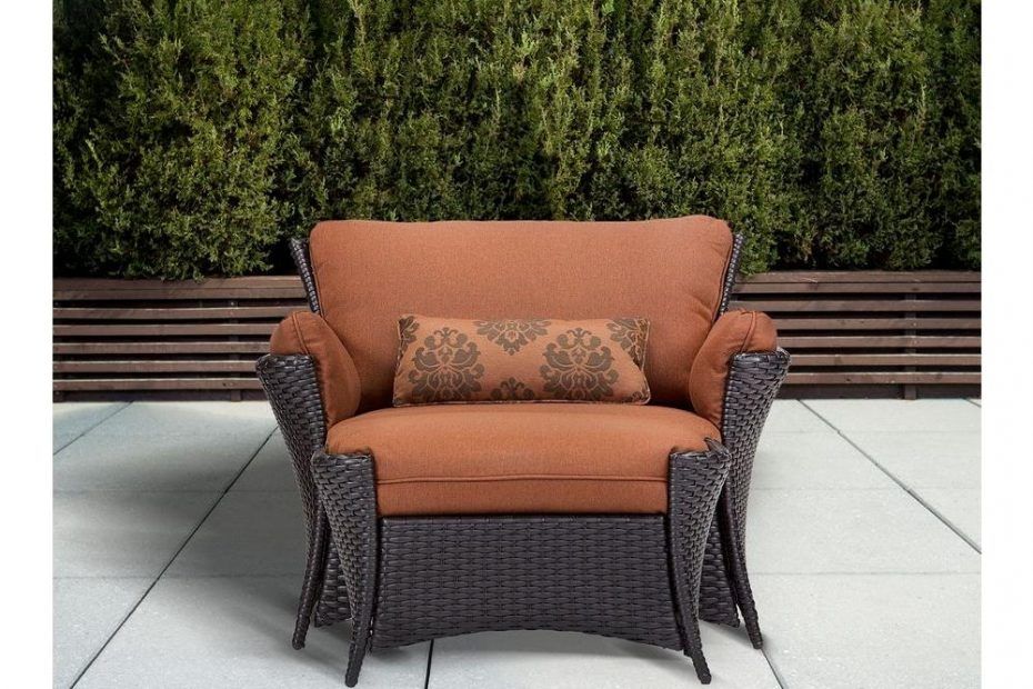 Hanover Strathmere Allure 2 Piece Patio Set With Oversized Armchair