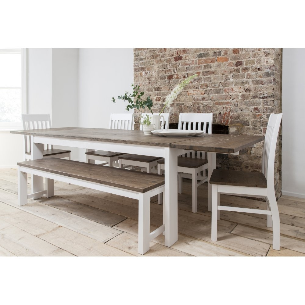 Hever Dining Table With 5 Chairs Bench Noa Nani