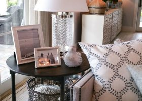 Living Room End Table Ideas