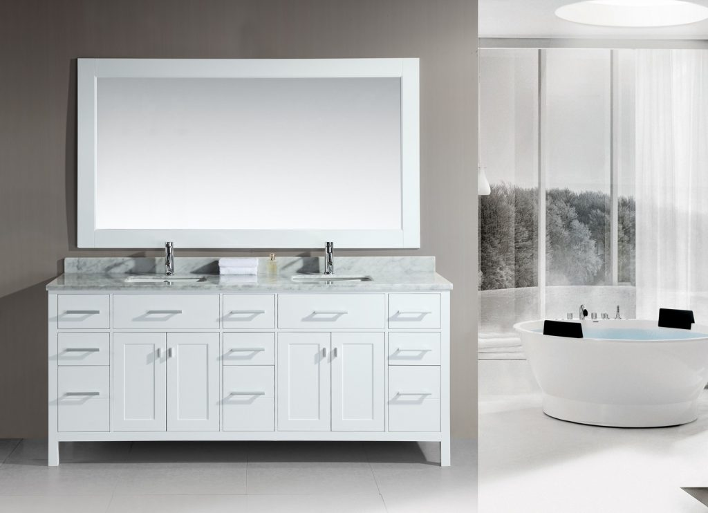 Home Decor Appealing Double Sink Bathroom Vanities Perfect With
