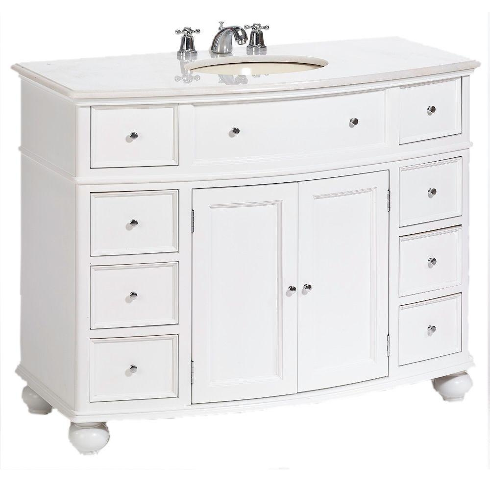 Home Decorators Collection Hampton Harbor 45 In W X 22 In D Bath