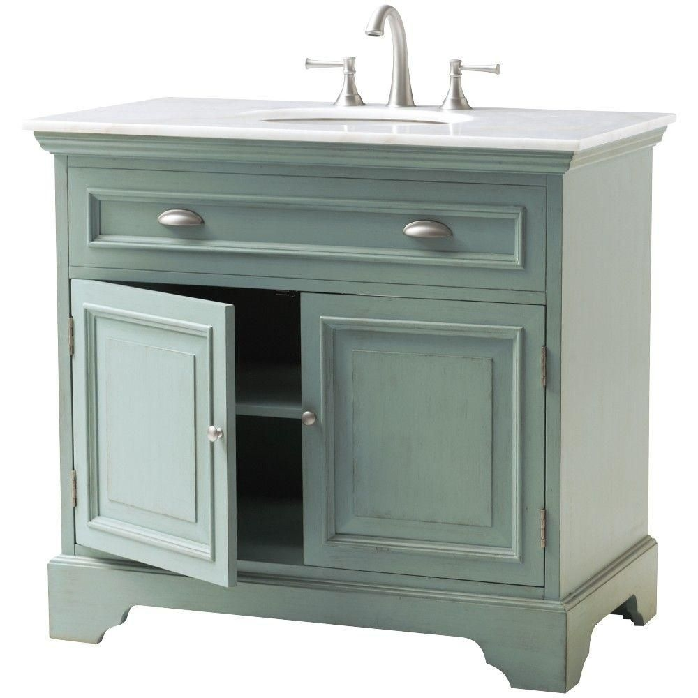 Home Decorators Collection Sadie 38 In W Bath Vanity In Antique