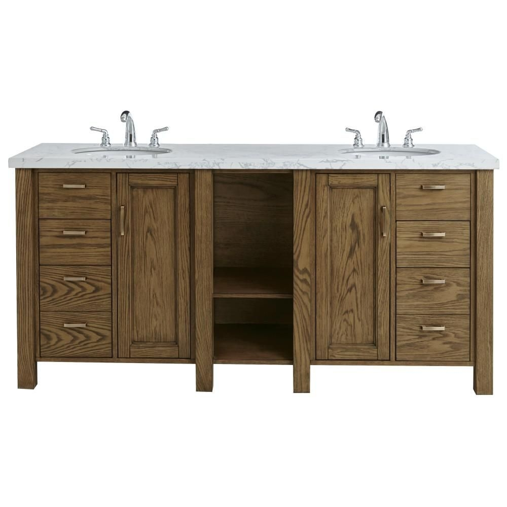 Home Decorators Collection Stanford 72 In W Double Bath Vanity In