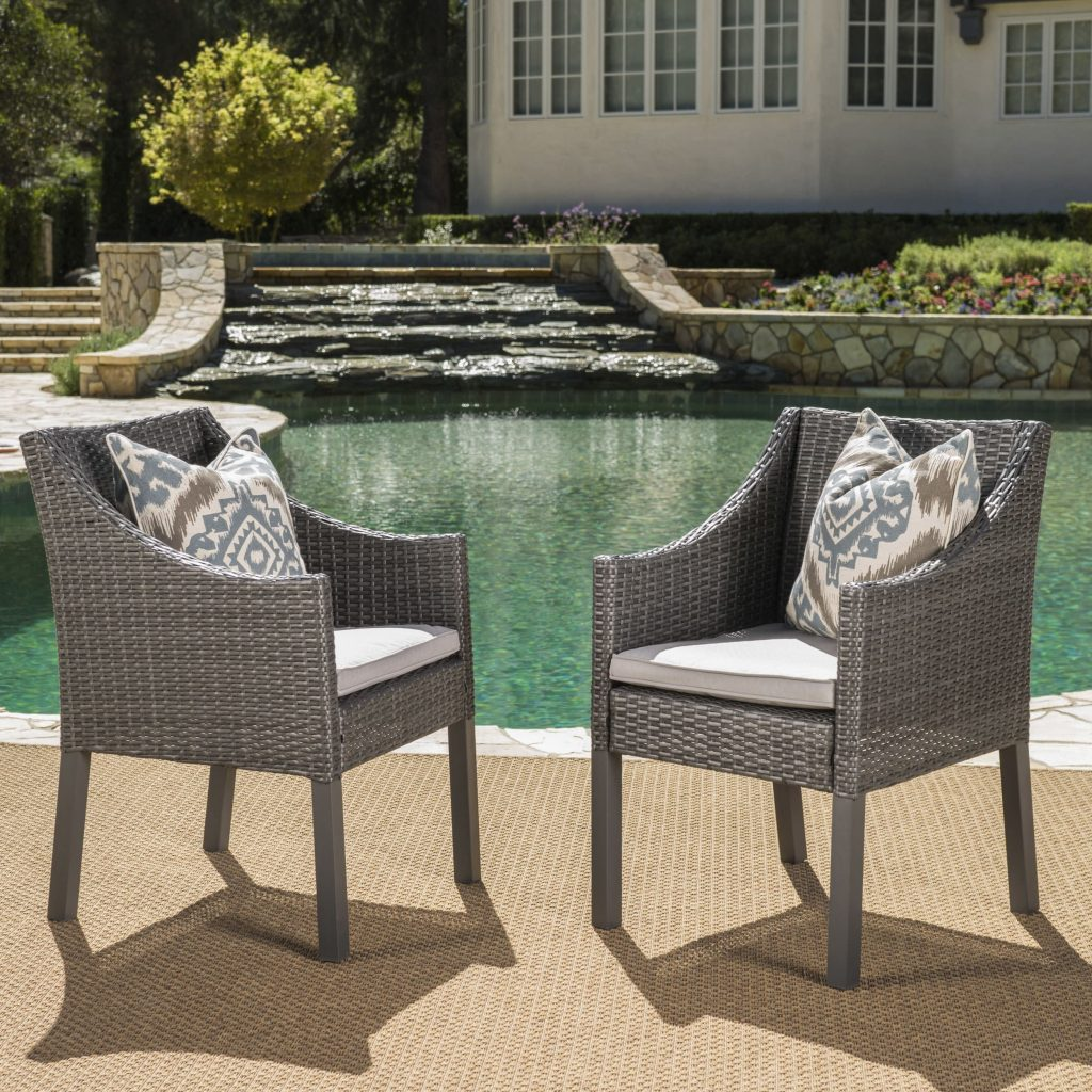 Home Goods Patio Furniture Wonderful Antibes Outdoor Wicker Dining