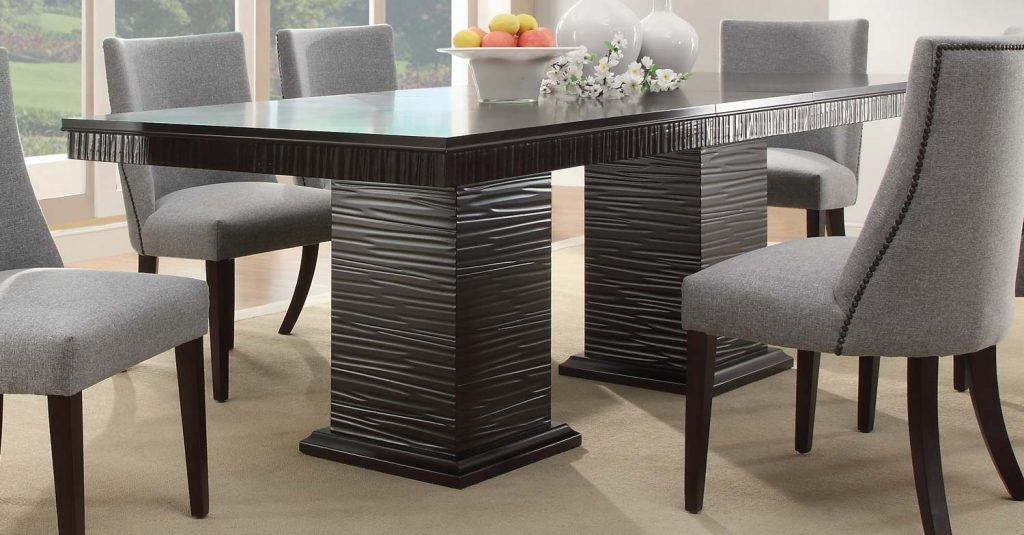 Homelegance Chicago Dining Table Espresso 2588 92