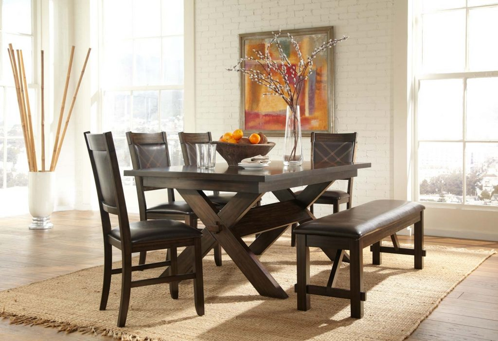 Homelegance Roy Dining Set Espresso D2499dc 90