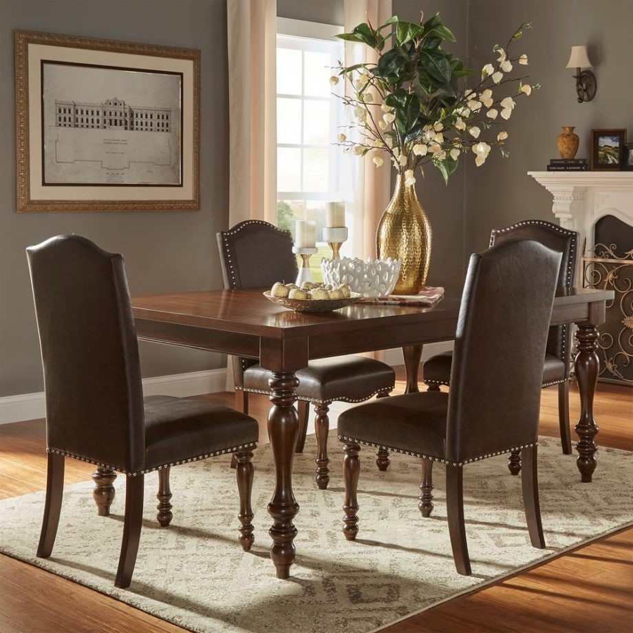 Homesullivan Piece Brown Extendable Dining Set Room Table Sets Drop
