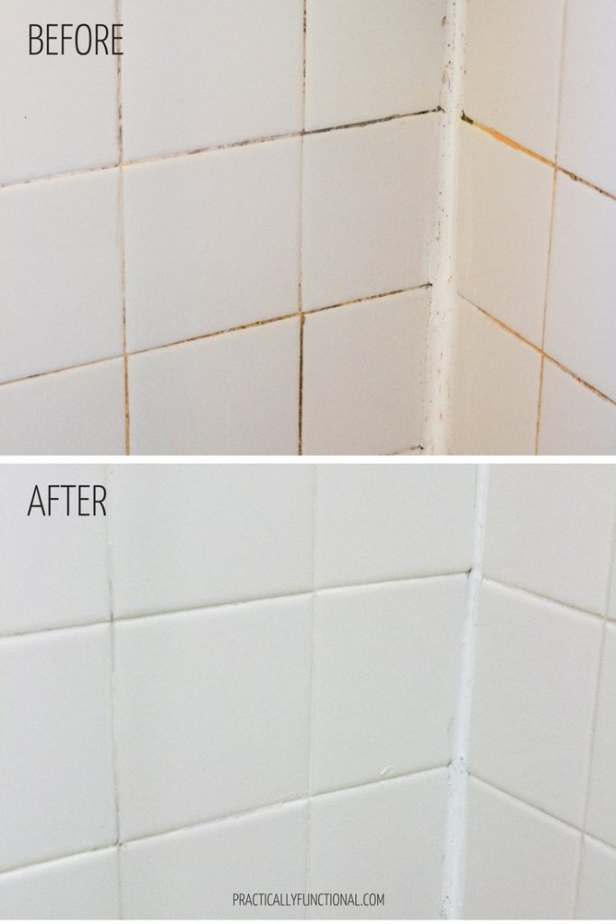 How To Clean Grout With A Homemade Grout Cleaner Diy Pinterest