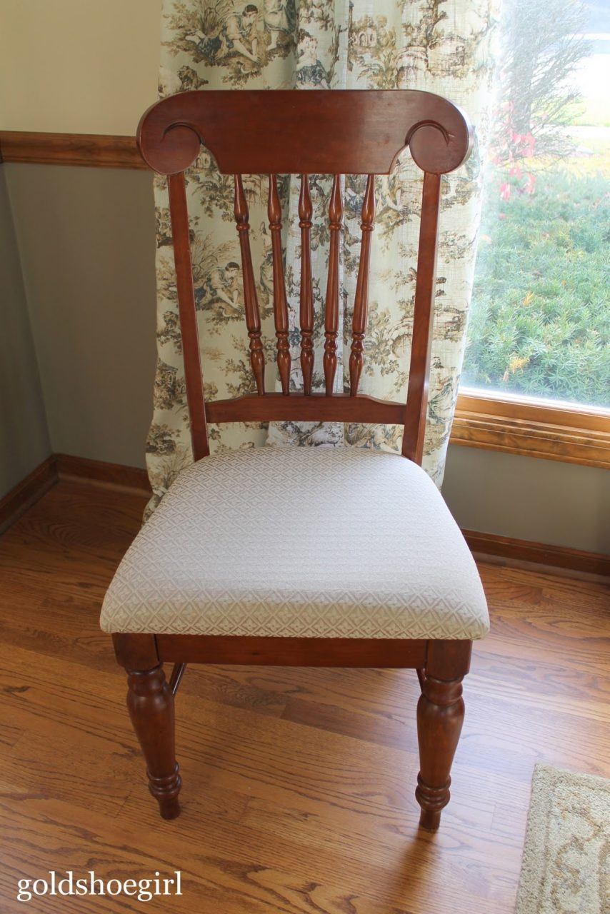How To Cover Dining Room Chair Cushions With Plastic Dining Room