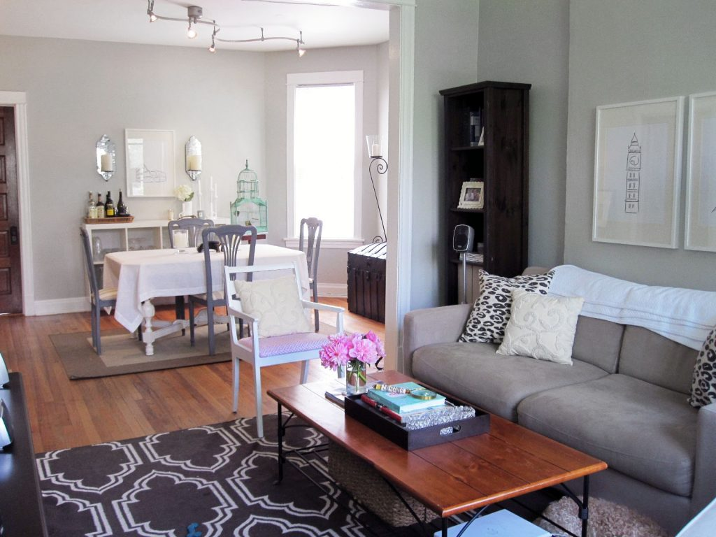 How To Decorate Living Room And Dining Room Combo Trellischicago