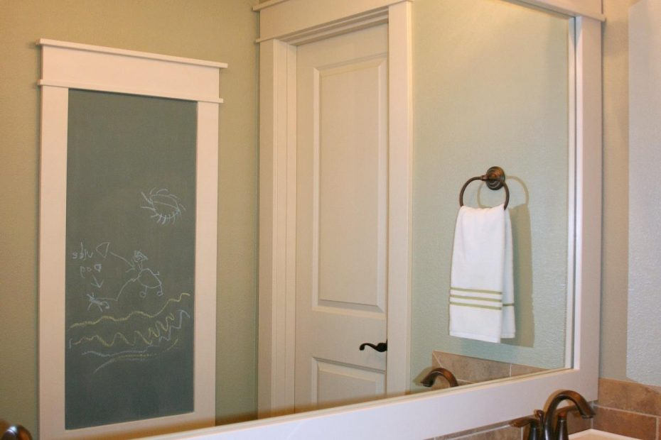 How To Frame A Mirror Hgtv
