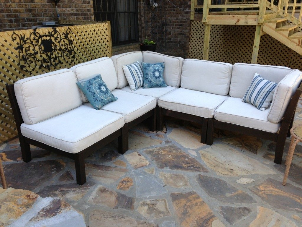 How To Rehab An Outdoor Sectional