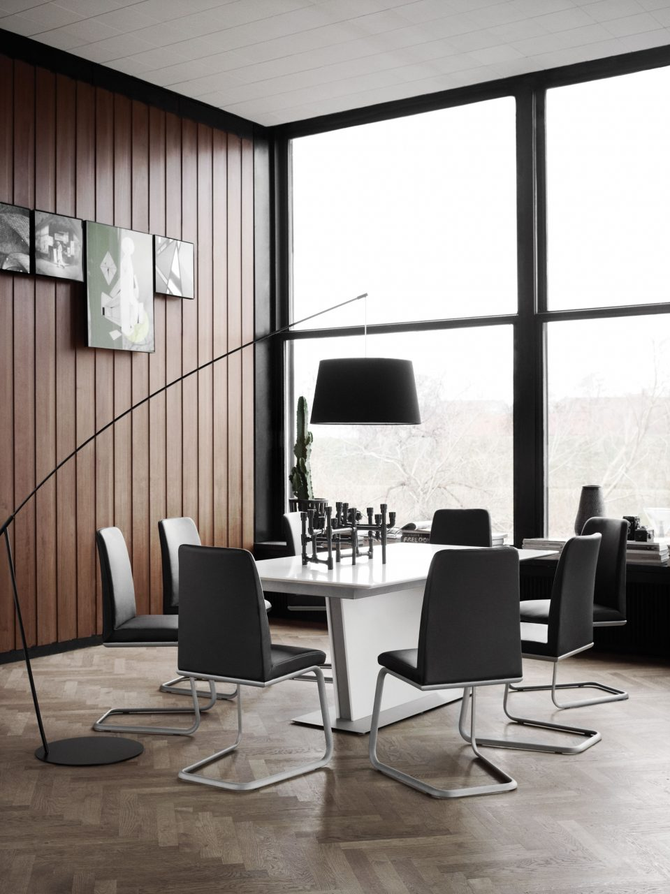 How To Use Modern Floor Lamps In Your Dining Room Lighting Design
