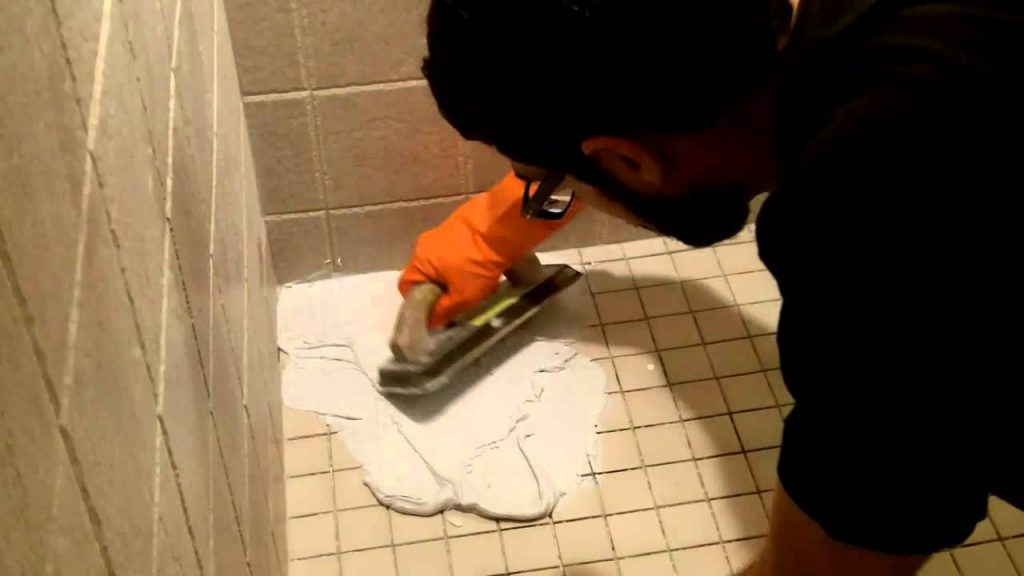 How To Use Shower Epoxy Grout Home Repair Tutor Youtube