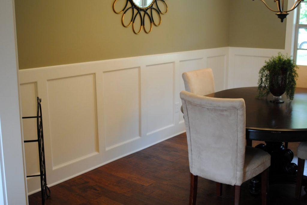 Ideal Dining Room Paint Ideas With Chair Rail Large And Dining