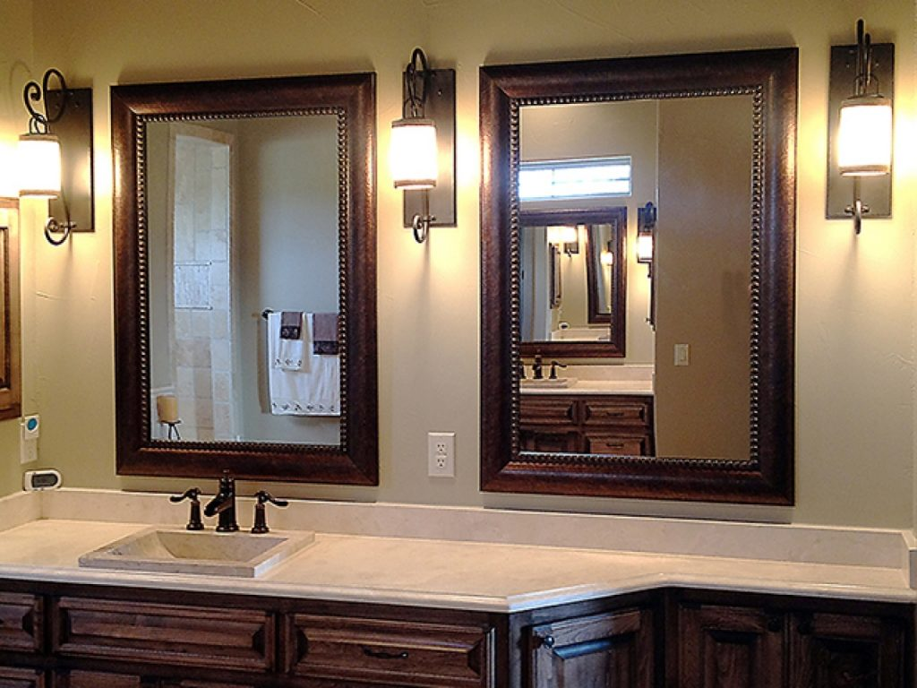 Ideas Of Framed Bathroom Mirrors Tedx Bathroom Design