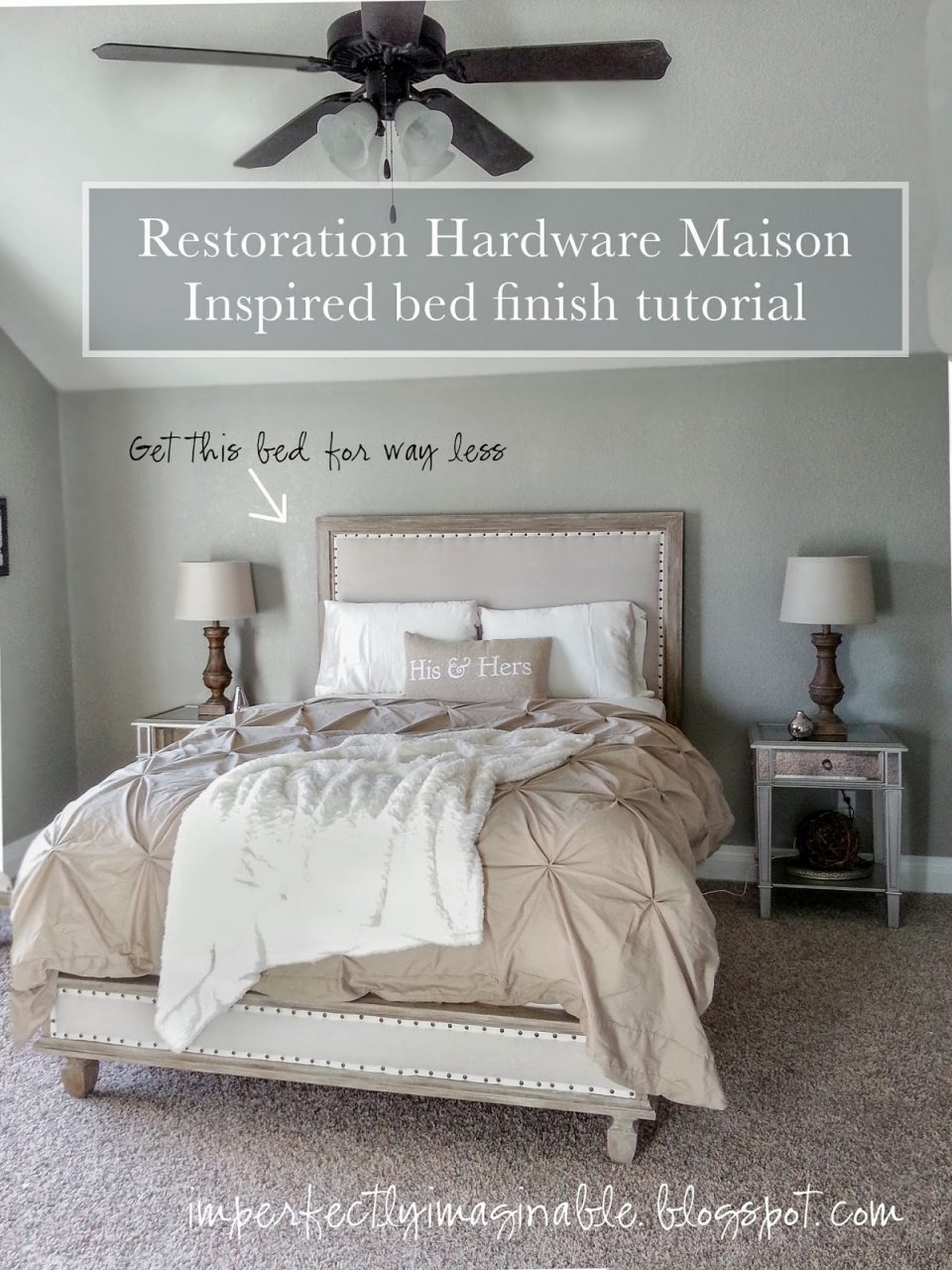 Imperfectly Imaginable Restoration Hardware Finish Tutorial For