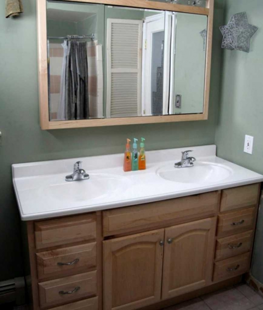 In Stock Bathroom Vanities Complete Ideas Example Inside Bathroom