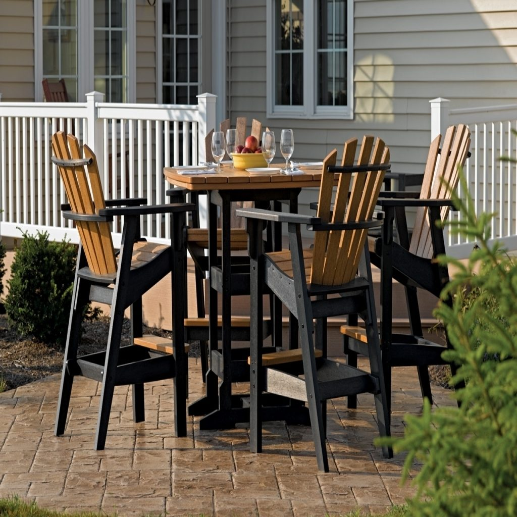 Incredible High Top Patio Furniture Find Recycled Plastic Outdoor