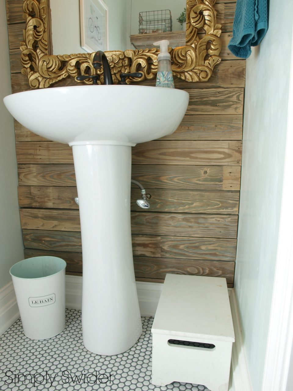 Industrial Chic Bathroom Makeover Simply Swider