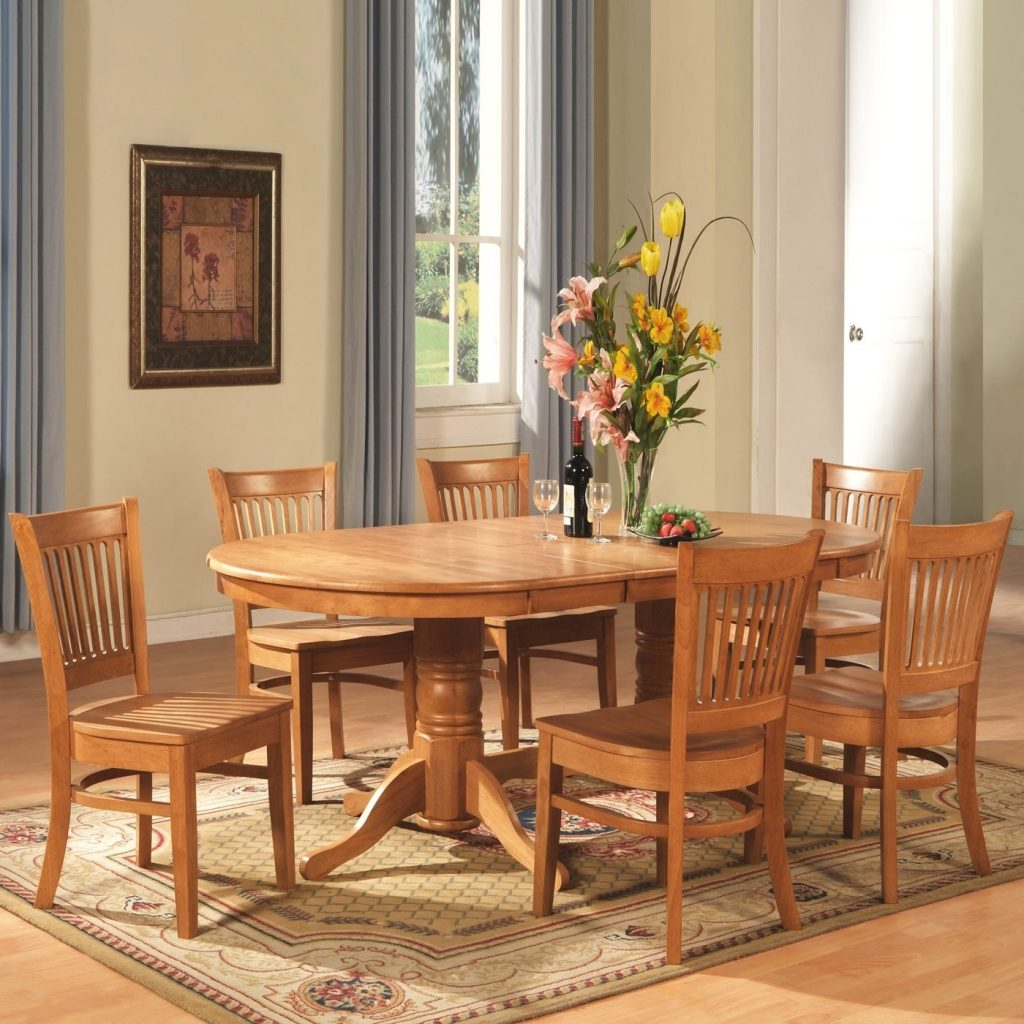 Inspirational Oak Dining Table And 6 Chairs