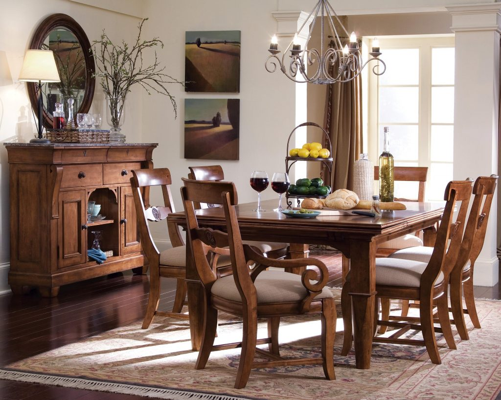 Kincaid Furniture Tuscano Formal Dining Room Group Hudsons