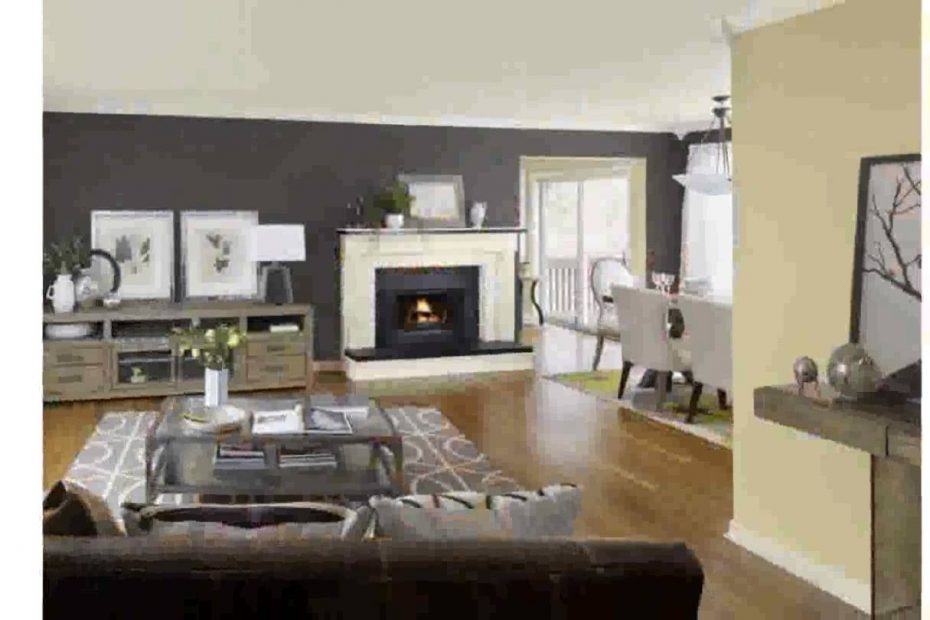 Kitchen Living Room Color Schemes Youtube